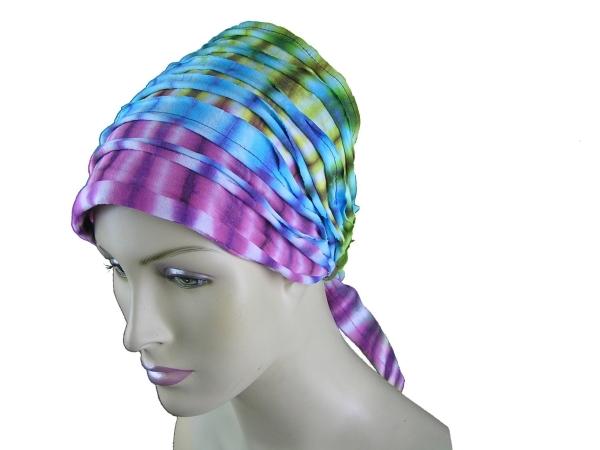 Haarband Stirnband Batik Kopfband Kopftuch Schweißband Haarschmuck Sport Fitness Yoga binden