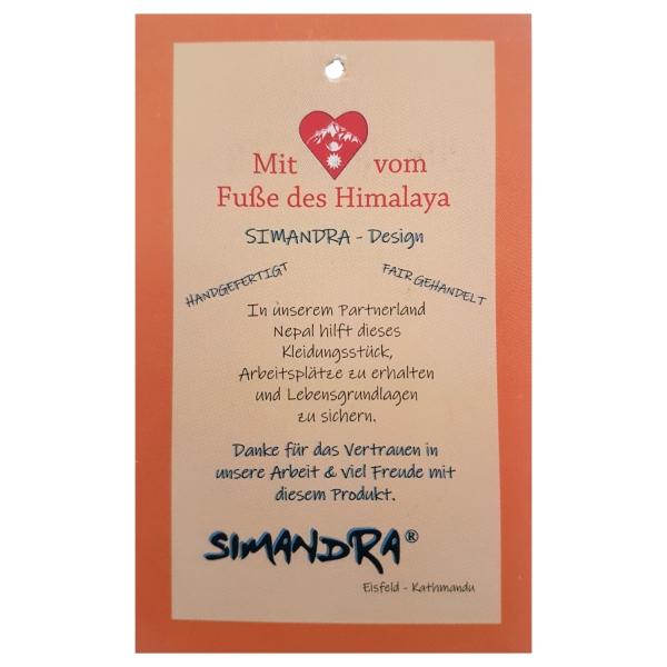 Simandra Gürteltasche für Damen und Herren - Bauchtasche mit vielen Fächern