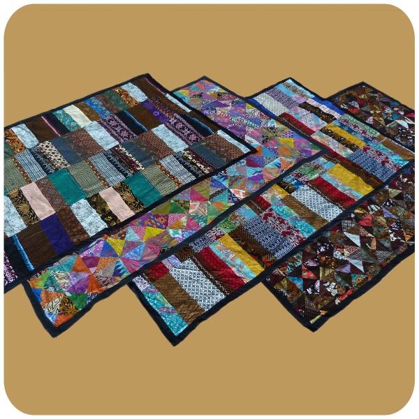 Tagesdecke Bett-Überwurf Patchwork-Decke Steppdecke Quilt Überdecke Einzelbett