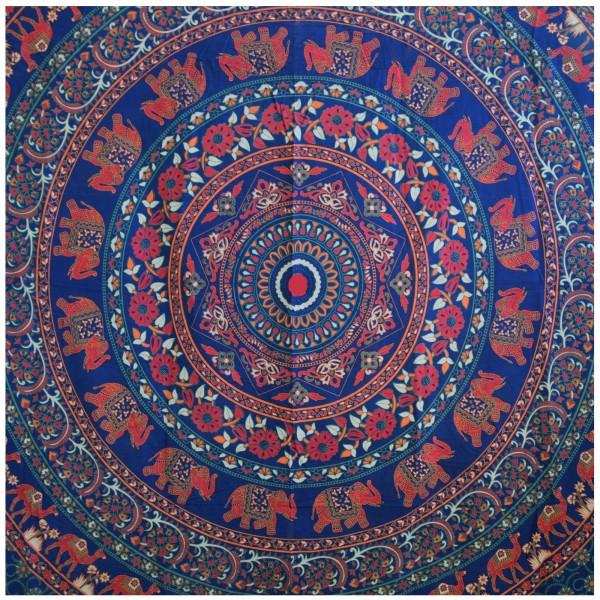 Wandtuch Mandala 210x240cm indischer Wandbehang Strandlaken Tagesdecke Tuch 3