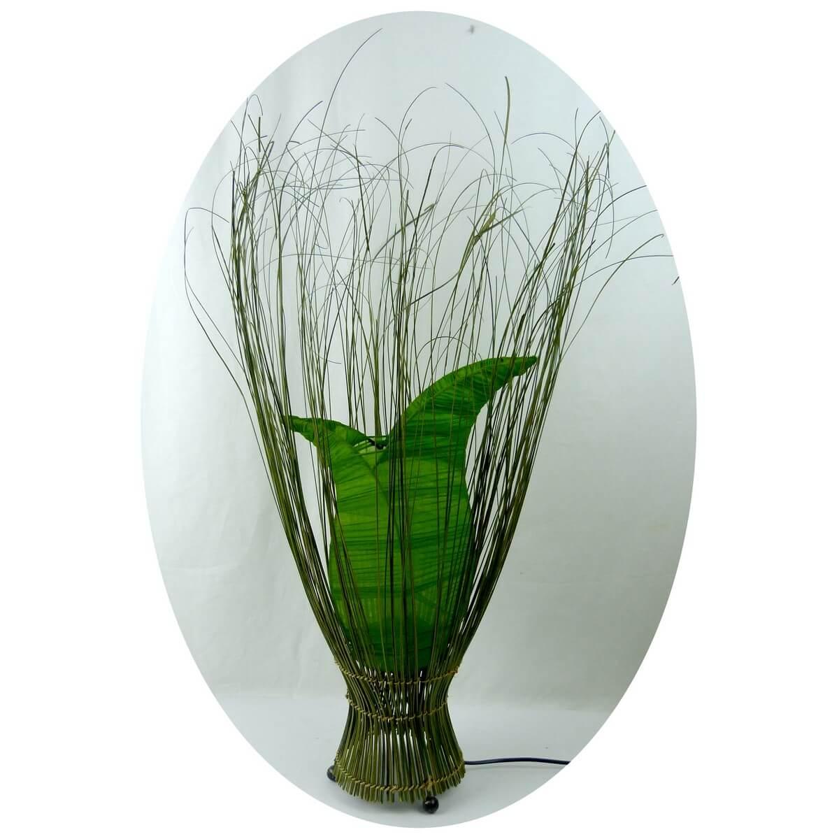 deko leuchte stimmungsleuchte stehleuchte tischleuchte tulpe 60 cm gr n. Black Bedroom Furniture Sets. Home Design Ideas