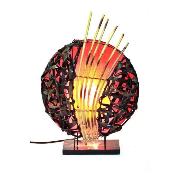 Deko-Leuchte Stimmungsleuchte asiatische Lampe Stehleuchte Tischleuchte Tischlampe Bali Asia Feng Shui