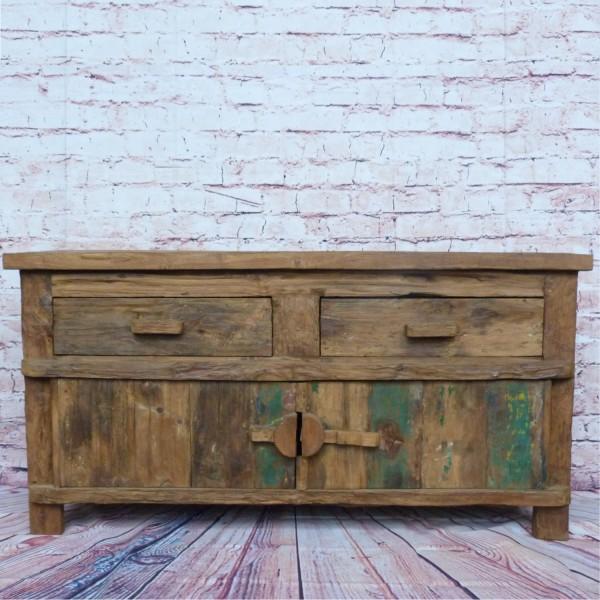 Alt-Teak Kommode I Massivholz-Möbel I Modell: Borneo 3