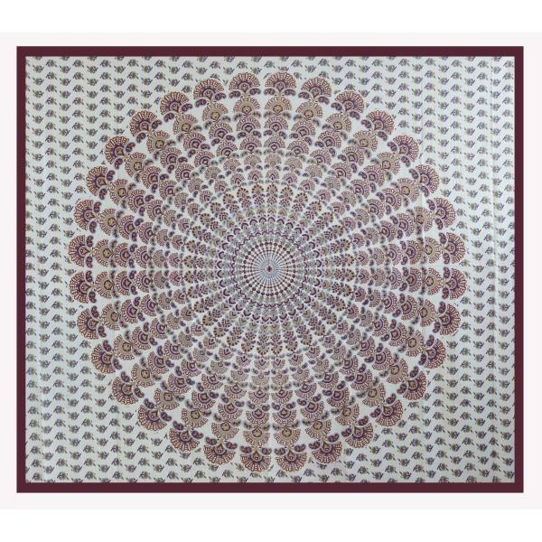 Wandtuch Mandala 210x240cm indischer Wandbehang Strandlaken Tagesdecke Tuch 2