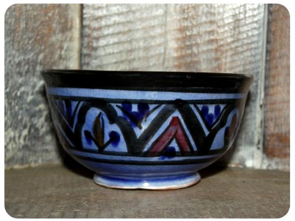 Orientalische marokkanische Keramikschale Keramik Müsli Obst Salat Schale Schüssel Deko klein