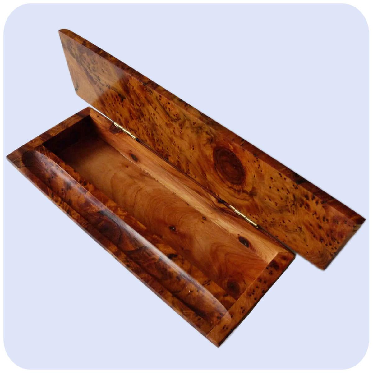 Thuja Holz Verwendung stiftehalter stiftebox organizer stifteablager büro stifteständer