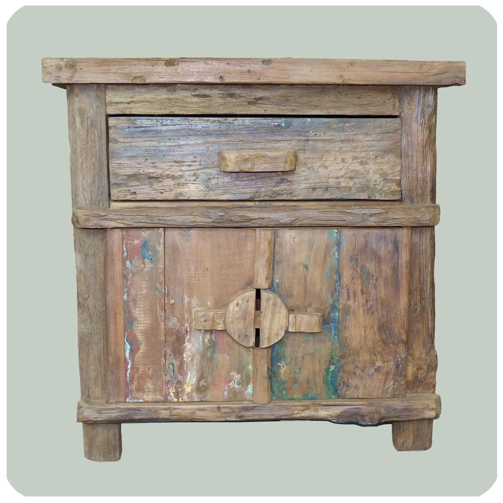 kommode schrank sideboard massiv holz teak m bel massivholz antik. Black Bedroom Furniture Sets. Home Design Ideas