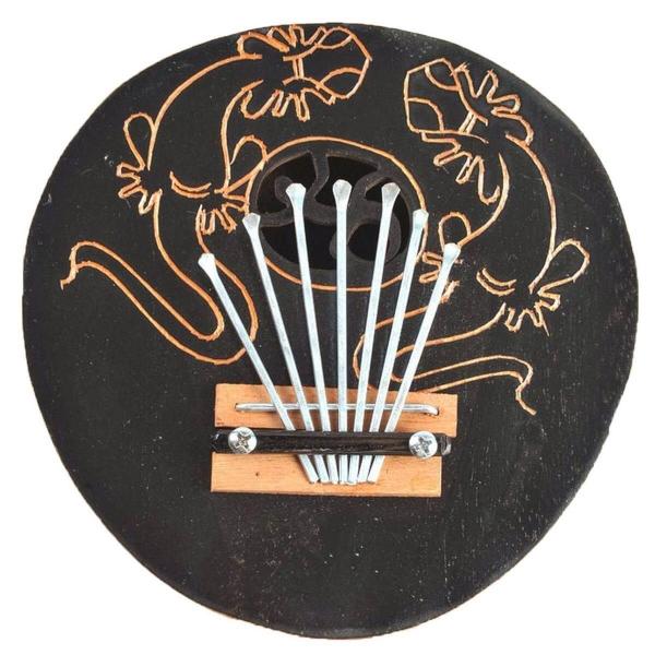 Kalimba Lamellophon Mbira Afrika Daumenklavier Kinder Musikinstrument Spielzeug