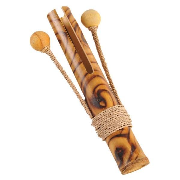 Bambus Glocke Klangspiel Musik Instrument Kinder Rhythmus Spielzeug Holz Percussion