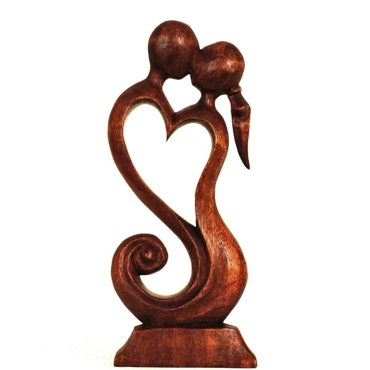 holz figur skulptur abstrakt holzfigur afrika asien deko fruchtbarkeit, Wohnzimmer dekoo
