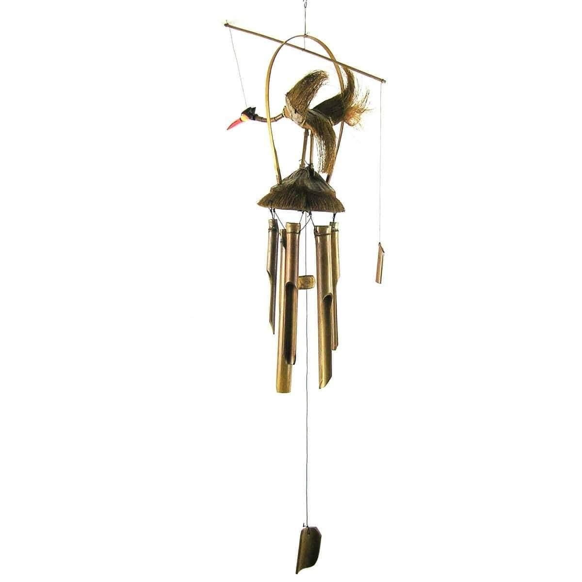 windspiel klangspiel bambus klang deko terrasse garten. Black Bedroom Furniture Sets. Home Design Ideas