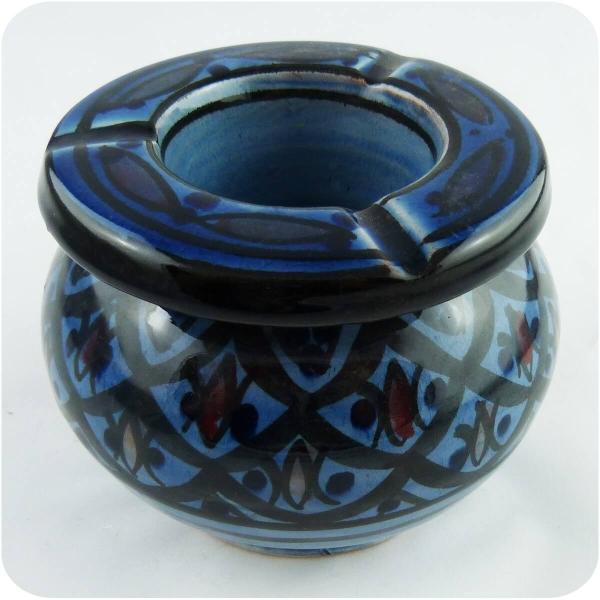 Marokkanischer Sturmaschenbecher Aschenbecher Keramik Windascher Ascher Orient Deko