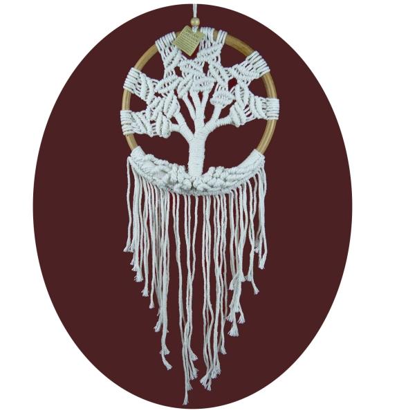 Traumfänger Lebensbaum Dreamcatcher Tree of Life 22 x 70 cm