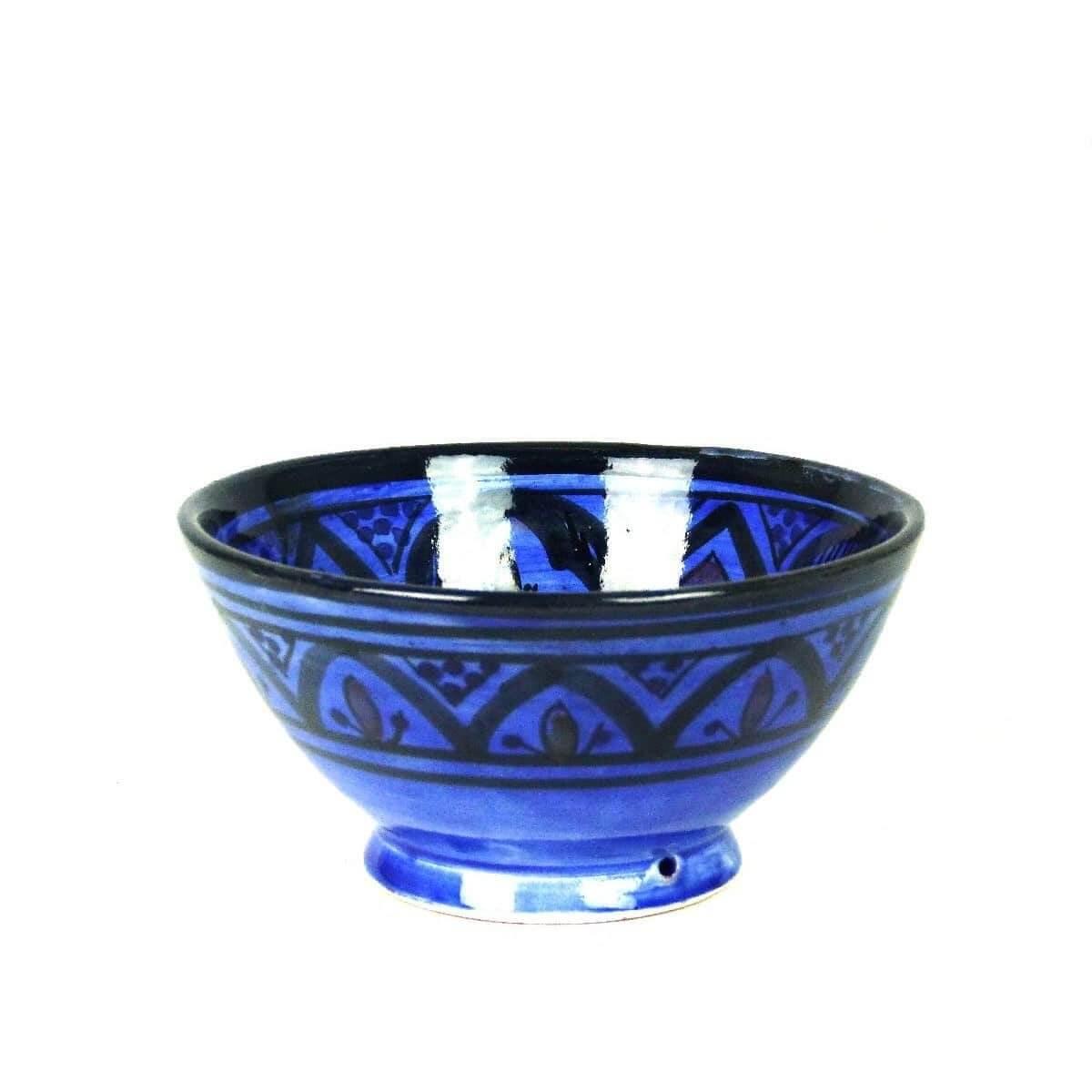 Orientalische marokkanische Keramikschale Keramik Obst Salat Reis kl