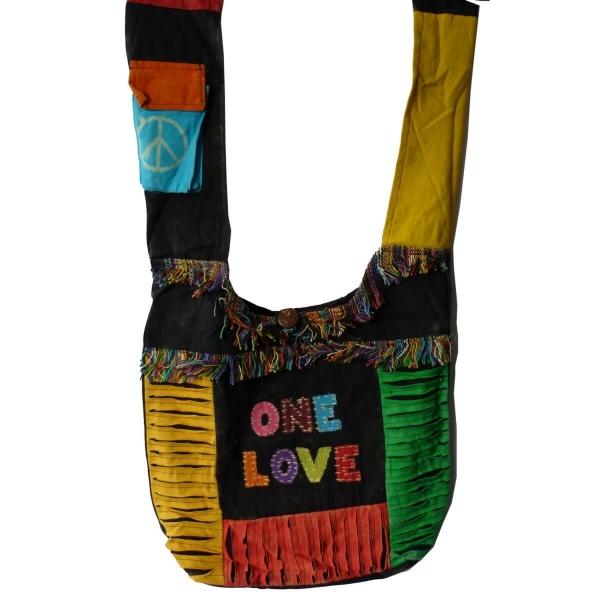 Patchwork Tasche Umhängetasche Handtasche Beuteltasche Tragetasche Schultertasche Shopper bestickt