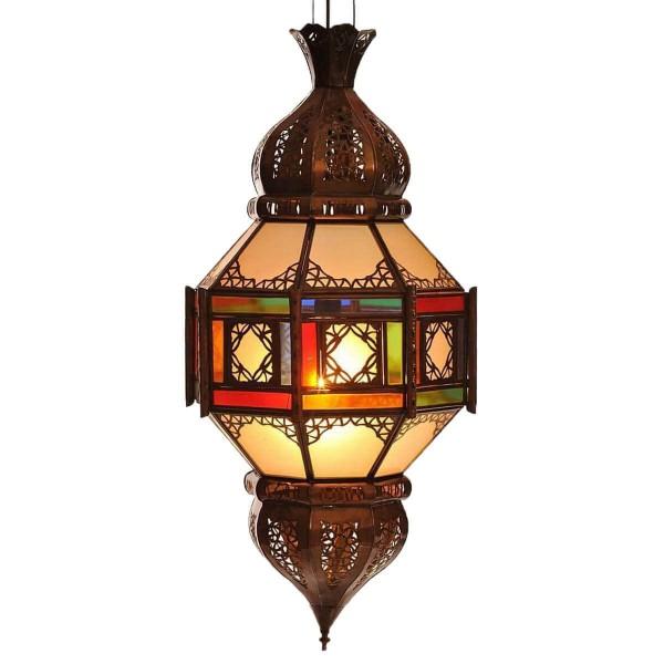 Orientalische marokkanische Lampe Palast Laterne Deckenlampe Deckenleuchte Hängelampe TEMPEL 60 cm