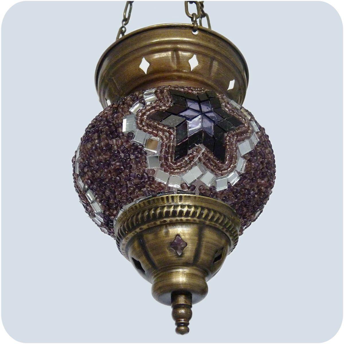 orientalische mosaik glas lampe h ngeleuchte deckenlampe t rkisch stil 20x16 cm ebay