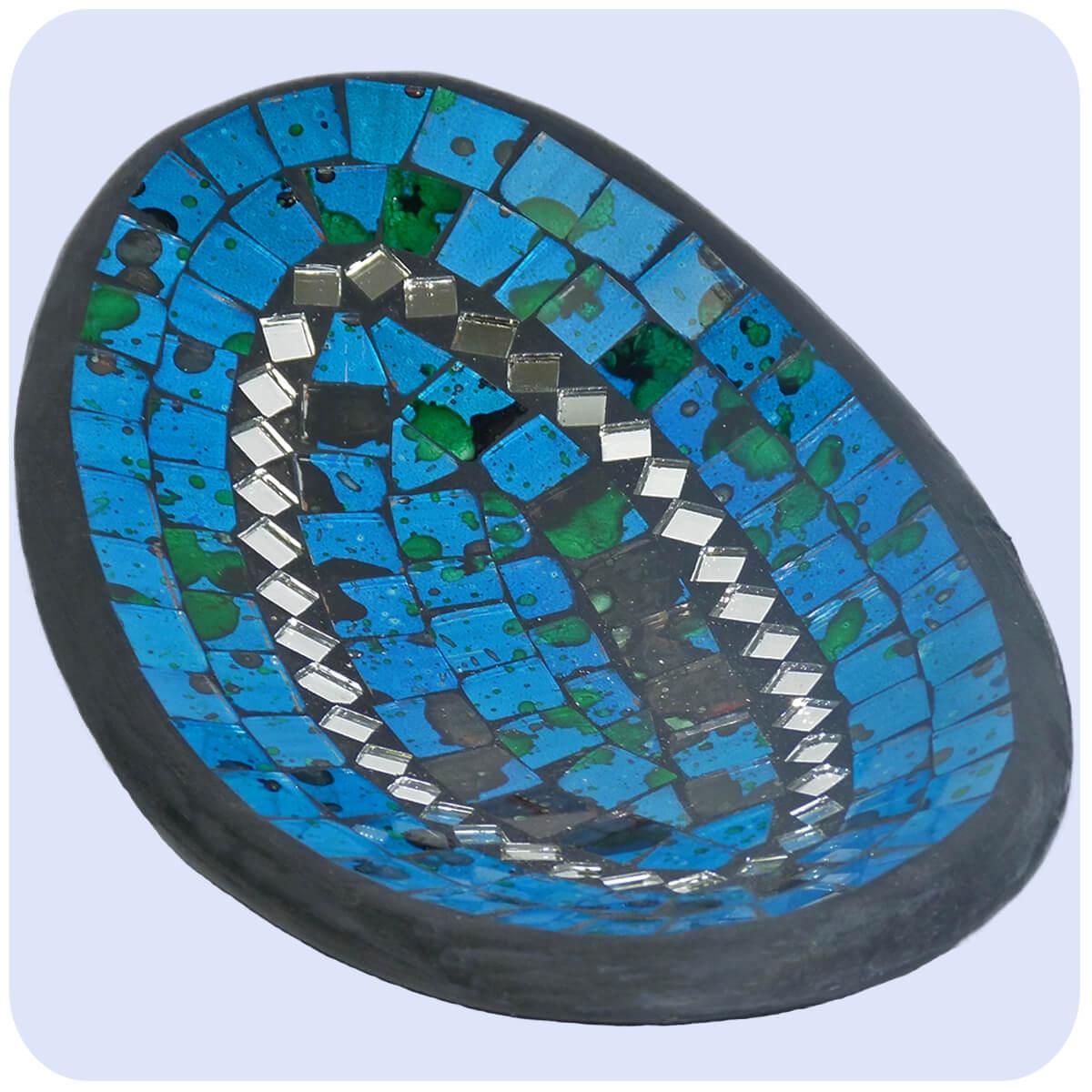 Spiegel mosaik deko mosaik spiegel als wanddekoration for Wohnaccessoires wohnraumdeko
