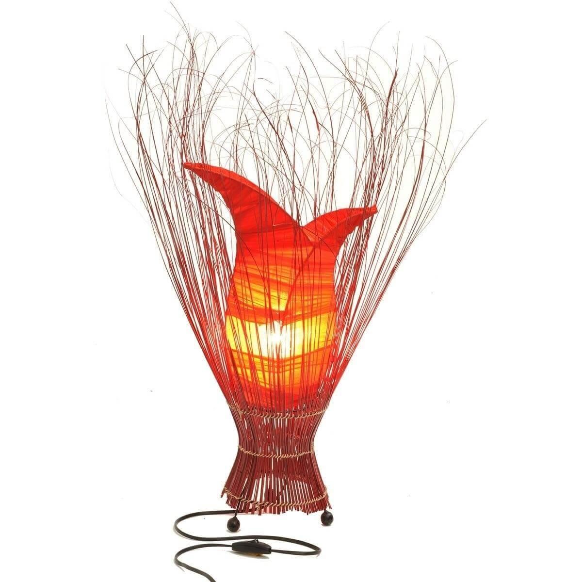 deko leuchte stimmungsleuchte stehleuchte tischleuchte tischlampe bali tulpe kl ebay. Black Bedroom Furniture Sets. Home Design Ideas