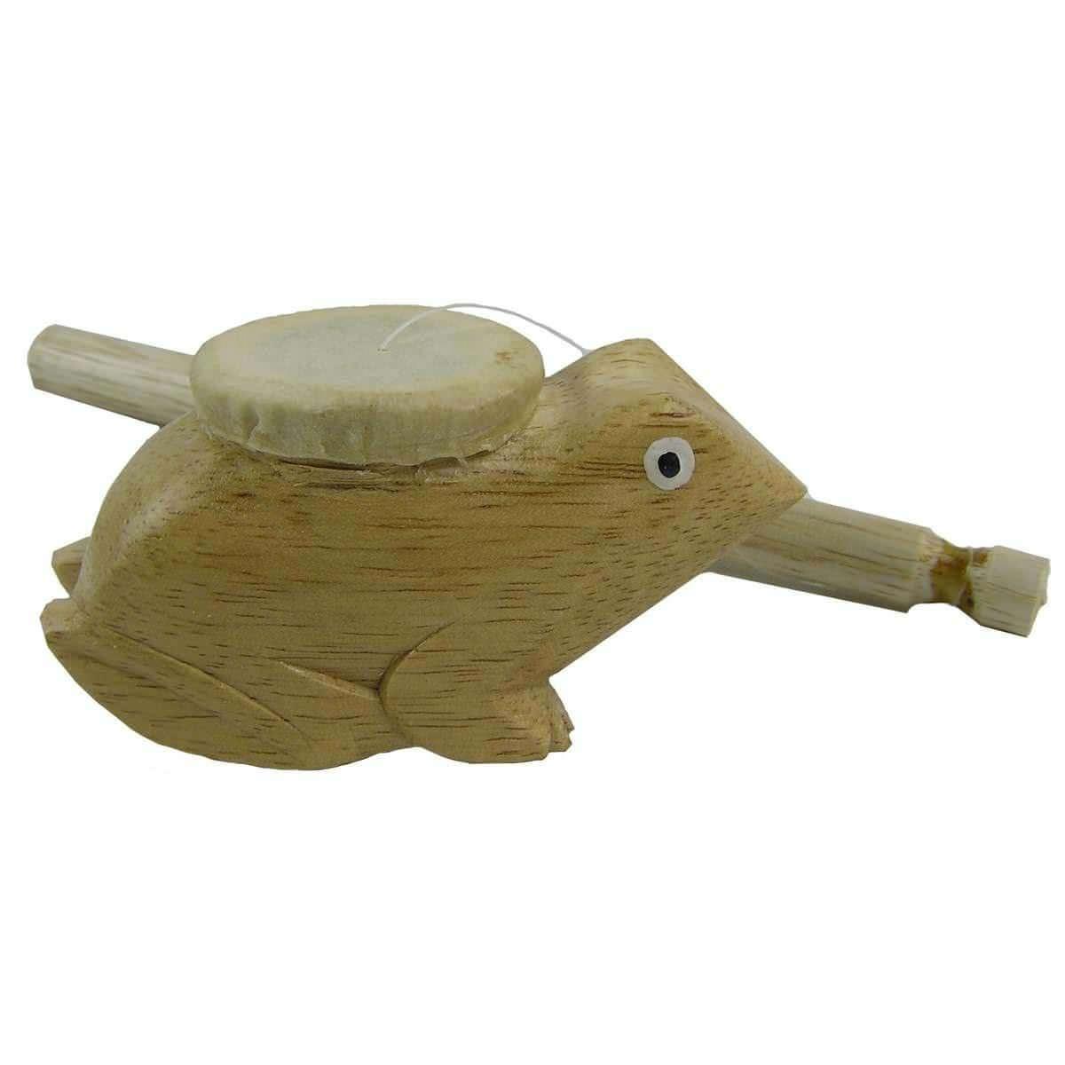Frosch Musik Holz Rhythmus Klang Instrument Percussion