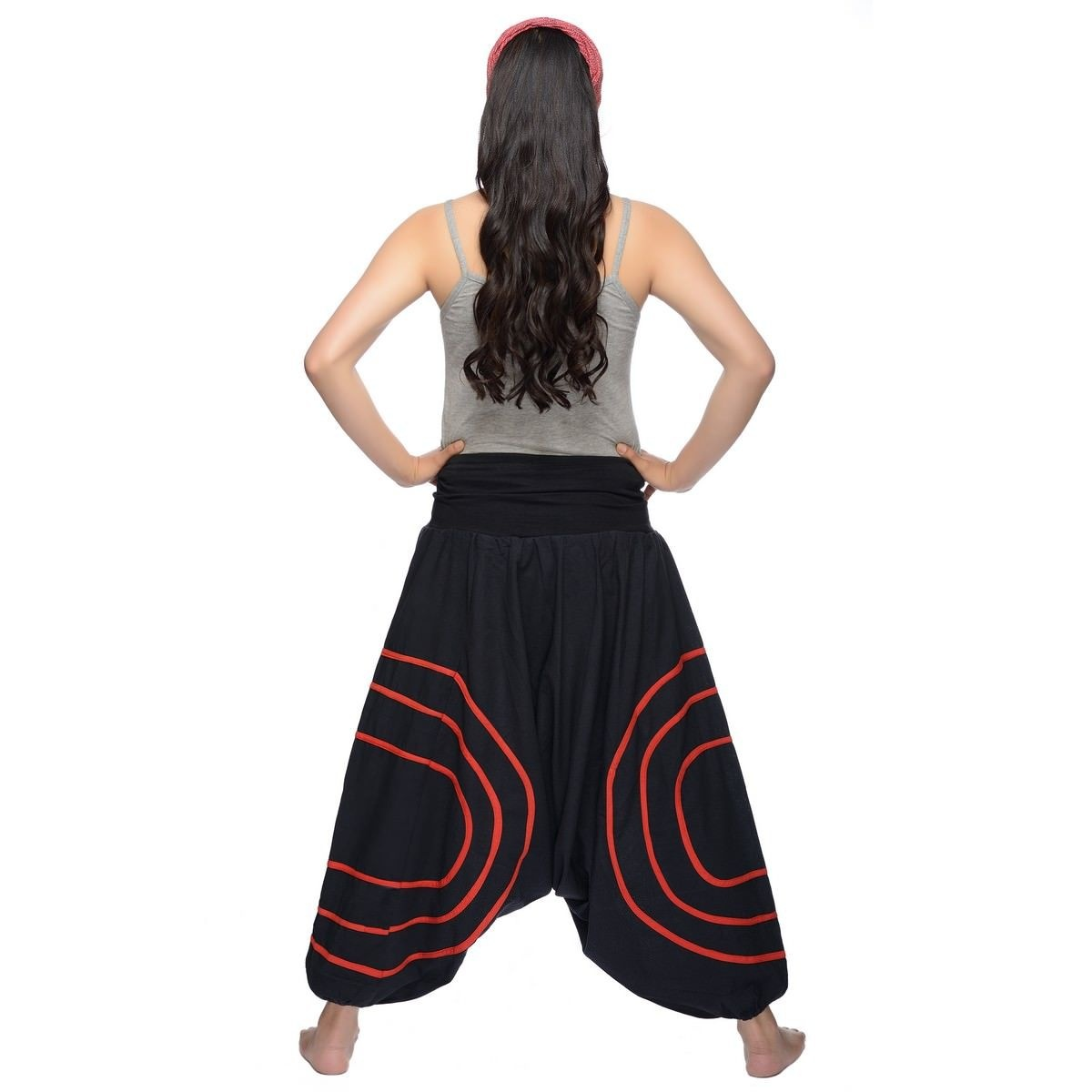 Harén pantalones harem Pantalones harem Pantalones Yoga Goa Sarouel Aladin  ocio bombacha damas CercleS db7d82e91acf