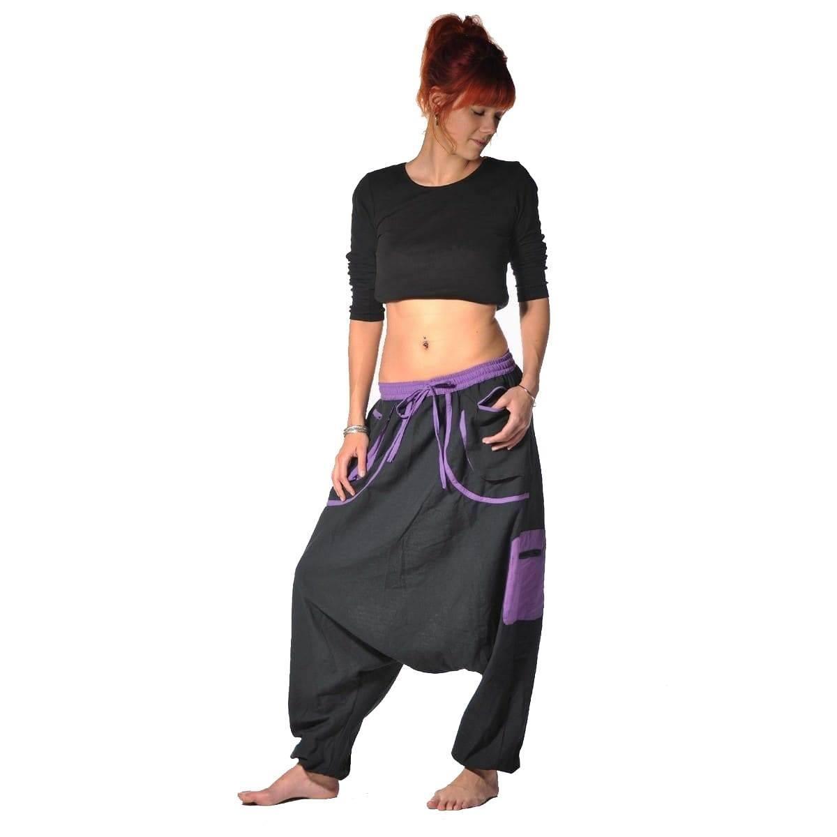 Pantalones Bombachos Pantalon Aladino Yoga Goa Sarouel Baggy Ocio Dewa Ebay