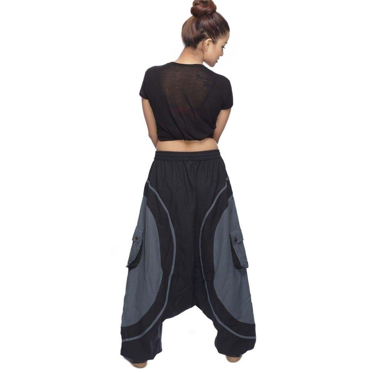 neue Season professioneller Verkauf Wählen Sie für offizielle Haremshose Pumphose Aladinhose Pluderhose Yoga Goa Sarouel ...