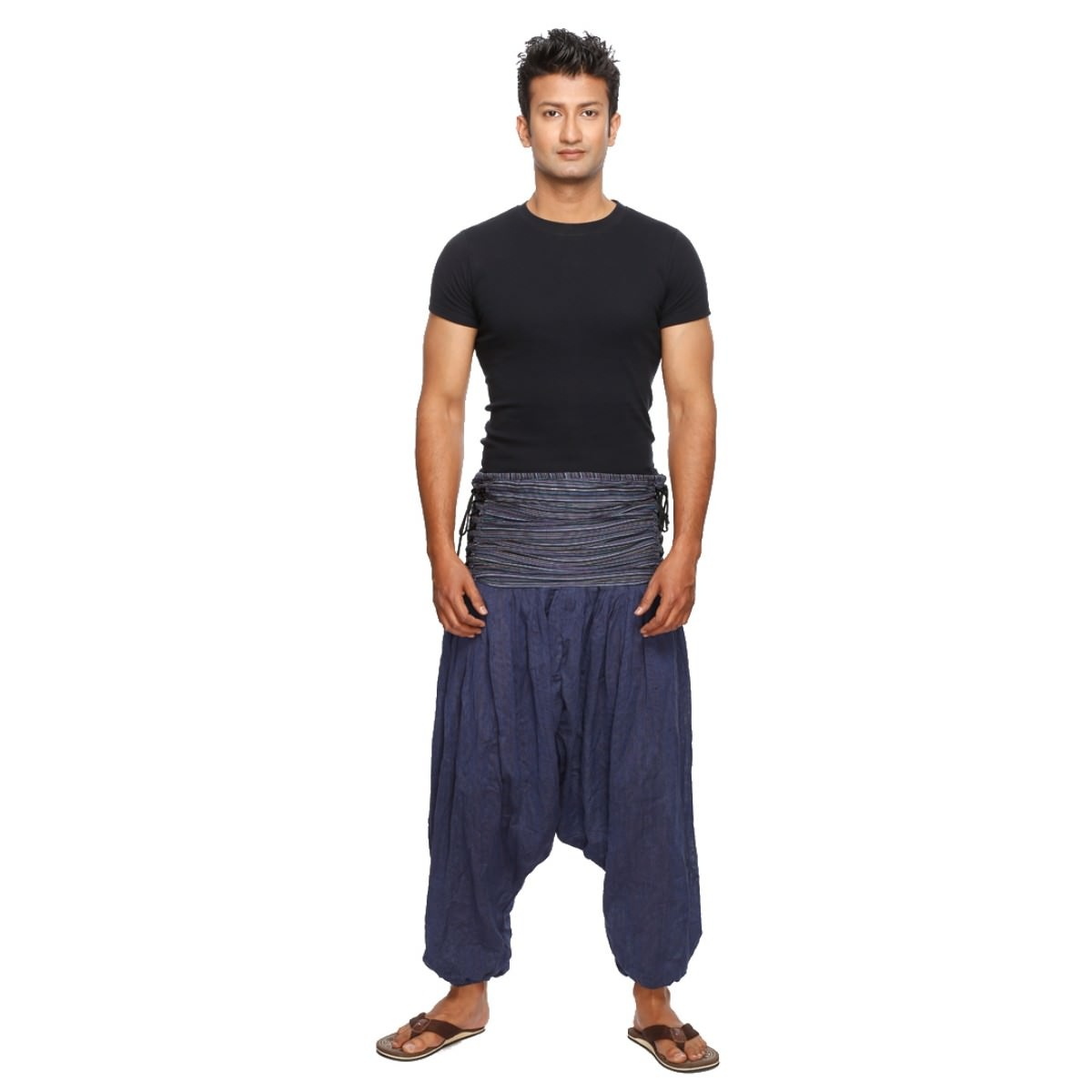 pantaloni harem pantaloni aladino a palloncino yoga goa sarouel baggy lacci jaya ebay. Black Bedroom Furniture Sets. Home Design Ideas