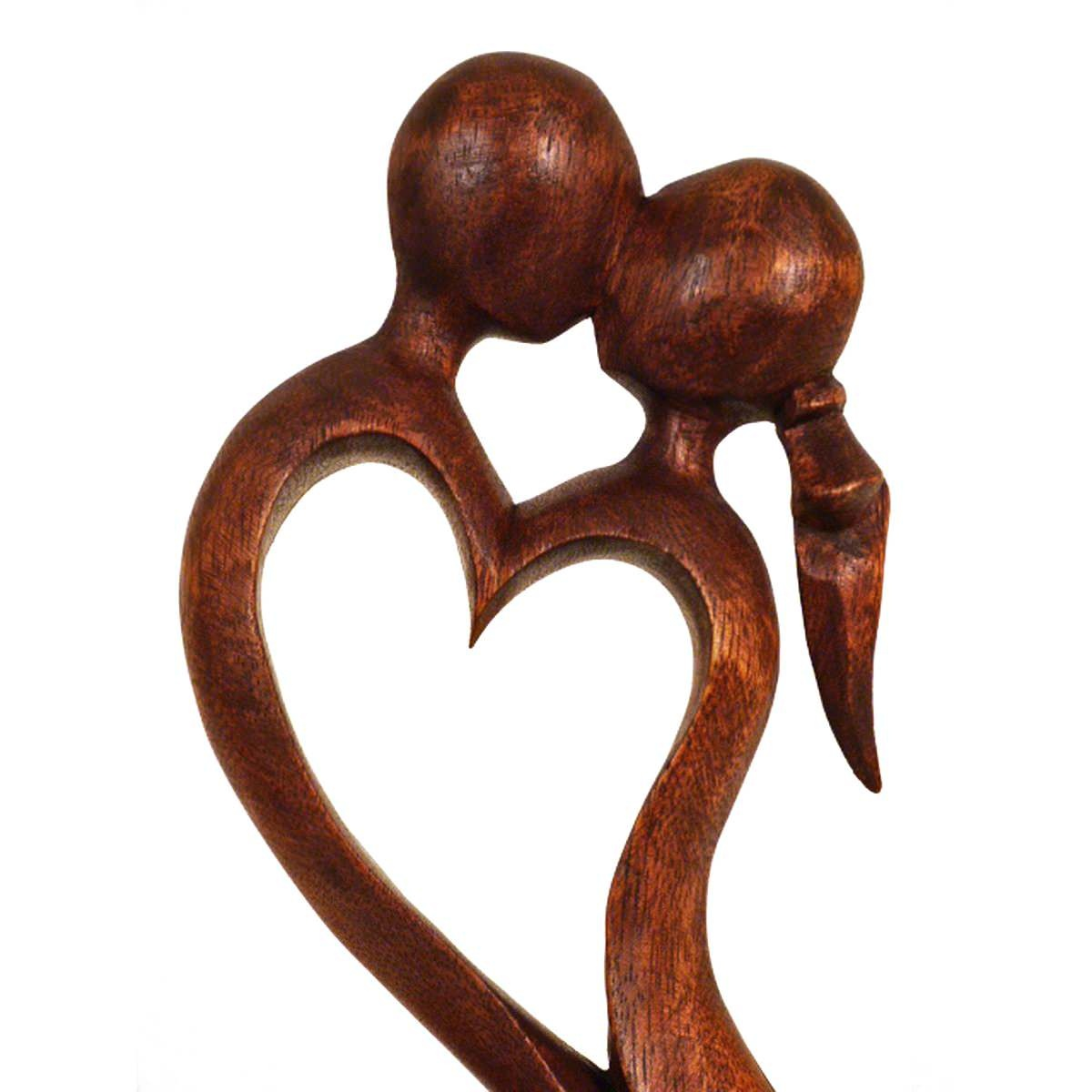 holz figur skulptur abstrakt holzfigur afrika handarbeit deko fruchtbarkeit ebay. Black Bedroom Furniture Sets. Home Design Ideas