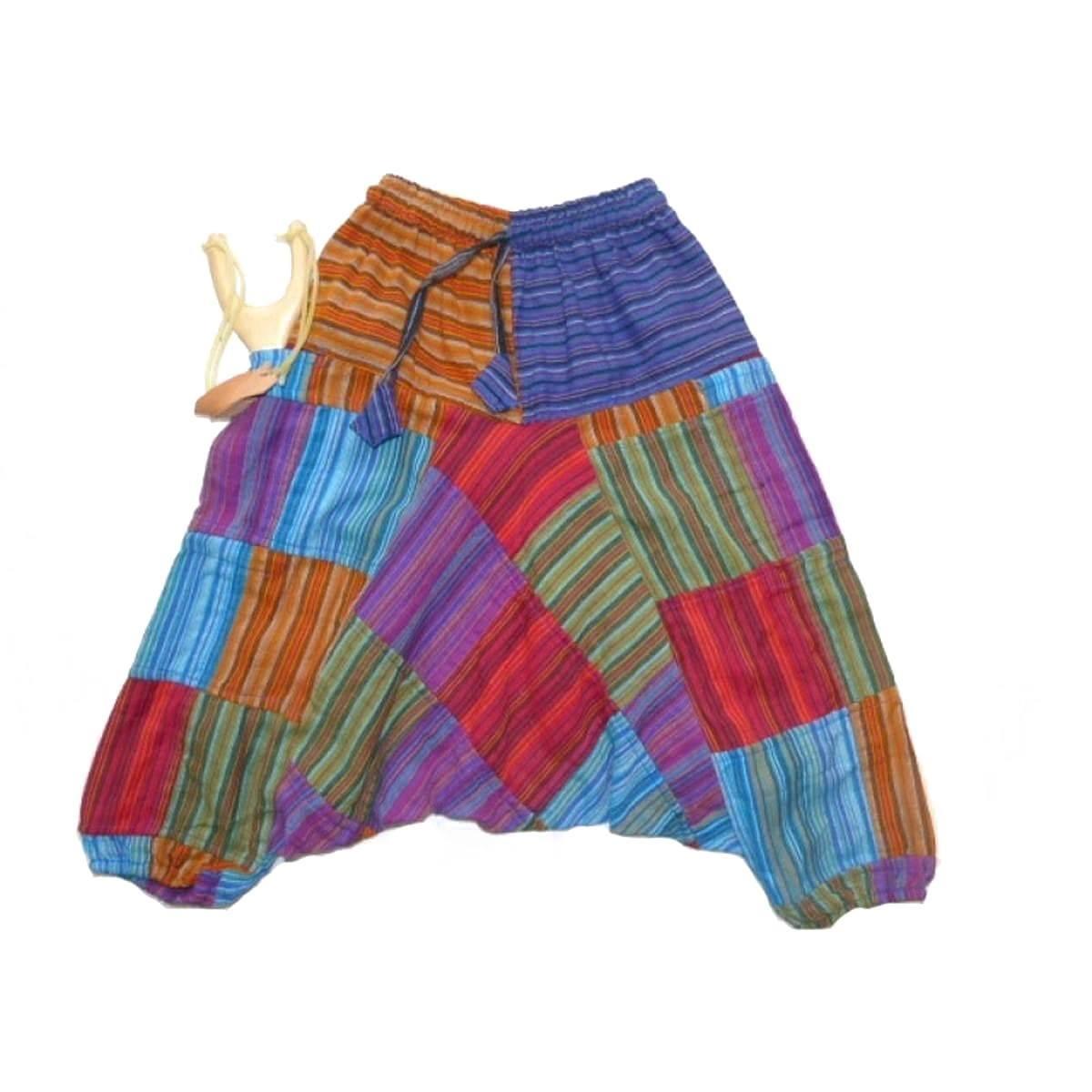 rationelle Konstruktion große Auswahl am besten geliebt Kinderhose Patchwork Haremshose Pumphose Aladinhose ...