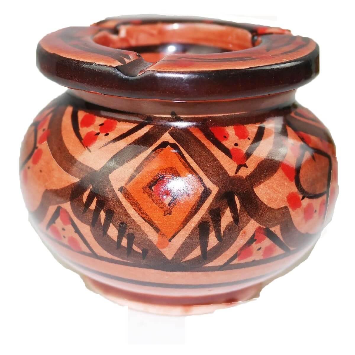 Marocchino porta cenere portacenere ceramica oriente for Decorazione ceramica