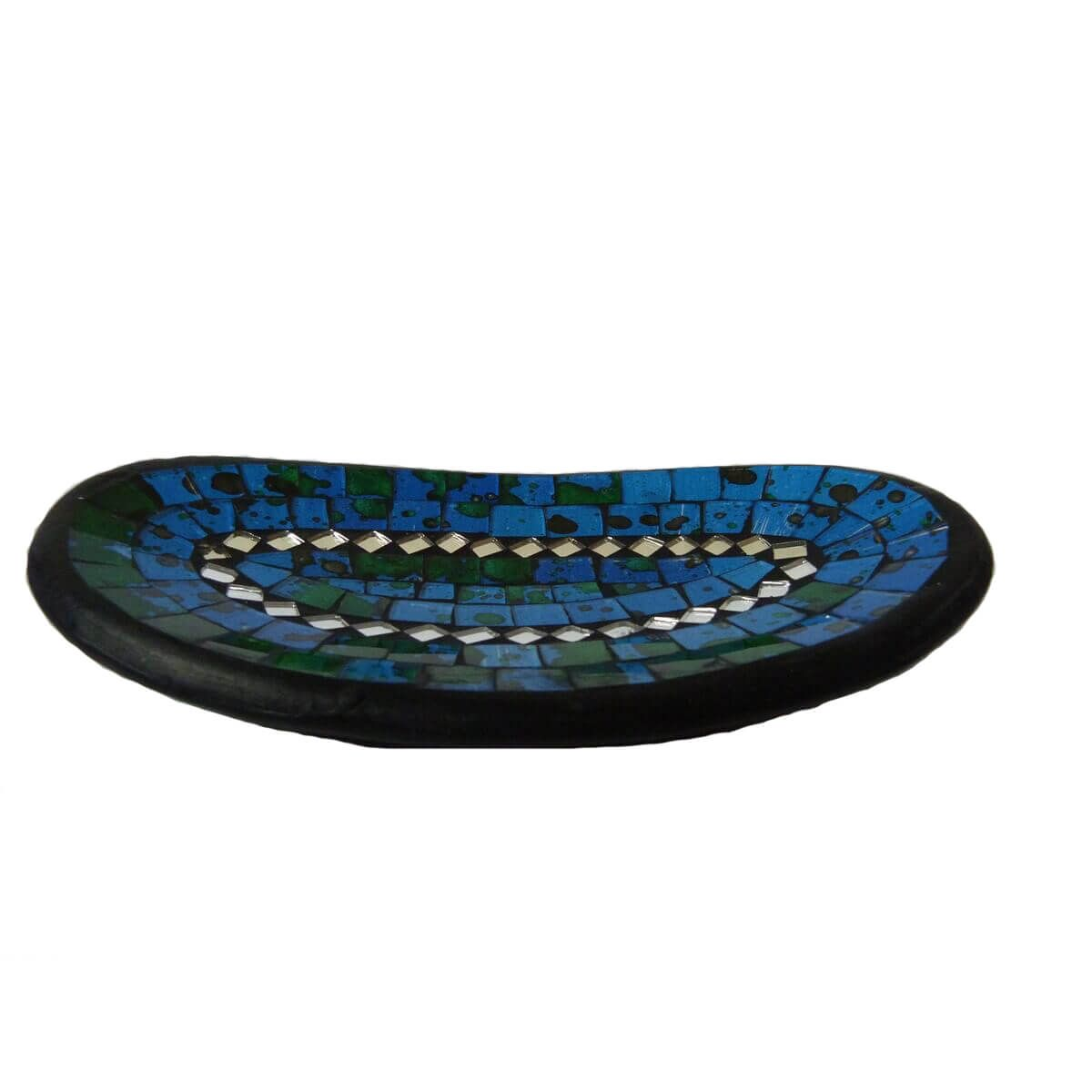 Mosaikschale tonschale glasschale dekoschale mosaik deko oval spiegel mittel ebay - Spiegel mosaik deko ...
