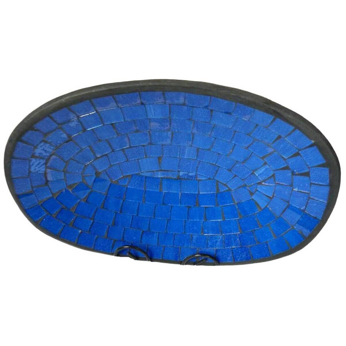 mosaikschale tonschale glasschale dekoschale mosaik kunst deko oval gro ebay. Black Bedroom Furniture Sets. Home Design Ideas