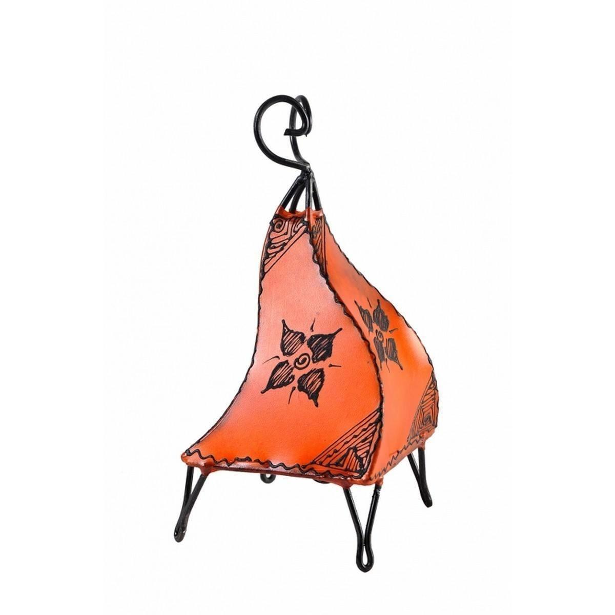 orientalische marokkanische stehlampe leder lampe hennalampe lederleuchte melaho ebay. Black Bedroom Furniture Sets. Home Design Ideas