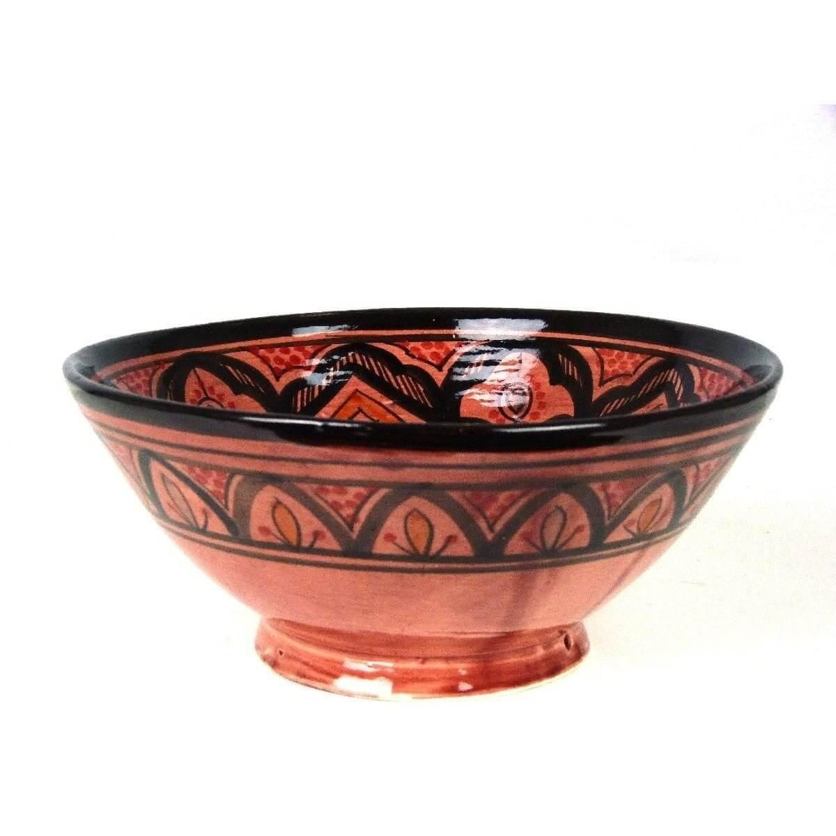 orientalische marokkanische keramikschale keramik obst. Black Bedroom Furniture Sets. Home Design Ideas