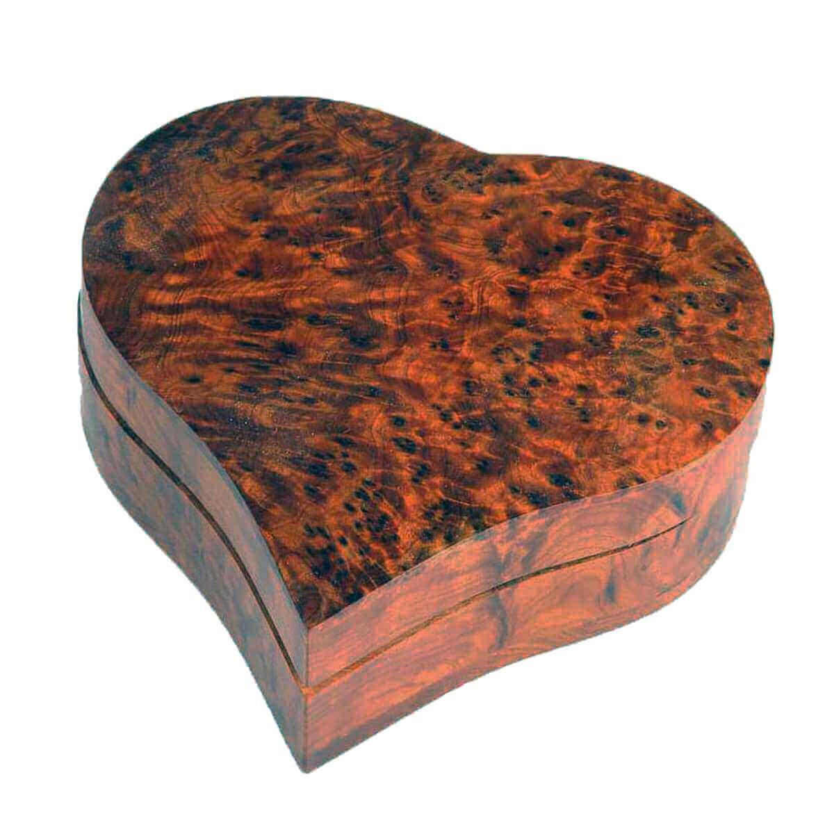 Thuja Holz Verwendung thuja holz schatulle dose schmuckdose holzschachtel deko wurzelholz